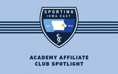 Academy Affiliate April Spotlights Sporting Iowa East